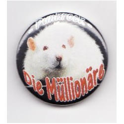 Die Müllionäre  -  Ratte (Button)
