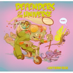 Defenders of the Universe / Atheist Rap - Split (LP)