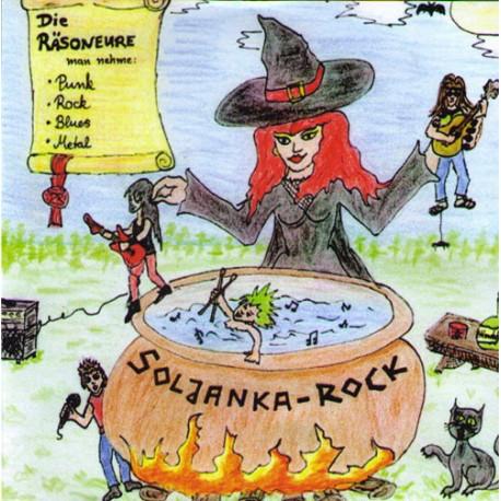 Die Räsoneure  -  Soljanka-Rock  (CD)